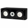 Fluance High Performance Two-way Center Channel Speaker - Black Ash (XL7C)
