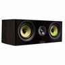Fluance Signature Series HiFi Two-way Center Channel Speaker for Home Theater - Natural Walnut (HFCW)