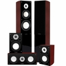 Fluance XL5HTB High Performance 5.0 Surround Sound Home Theater Speaker System Including Three-way Floorstanding Towers, Center & Rear Speakers (XL5HTB)