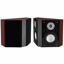Fluance XLBP Wide Dispersion Bipolar Surround Sound Speakers for Home Theater -XLBP