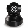 Foscam Plug & Play FI9816P 1.0 Megapixel (1280x720) HD H.264 Video Compression, Wireless/Wired Pan/Tilt IP Camera, 26 Ft Night Vision, 70� Viewing Angle, Two Way Audio, Cloud Enabled, Micro SD Compatible