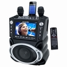 "Karaoke USA GF830 DVD/CD+G/MP3+G Bluetooth Karaoke System with 7"" TFT Color Screen and Record Function"