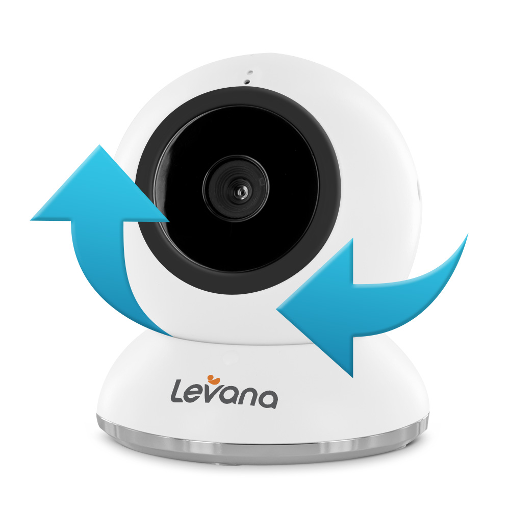 levana amara 7 touchscreen high definition video baby monitor with 12 h. Black Bedroom Furniture Sets. Home Design Ideas