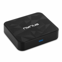 Nyrius Songo� HiFi Wireless Bluetooth aptX Music Receiver for Streaming iPhone, iPad, iPod, Samsung, Android, Blackberry, Smartphones, Tablets, Laptops to Stereo Systems with Digital Optical or 3.5mm Audio Connections (BR50)
