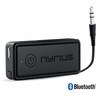 Nyrius Songo Portable Wireless Bluetooth Music Receiver Adapter for Car Audio, Headphones & Speaker Systems with 3.5 mm Connection, Rechargeable Battery, and Audio Controls; For Streaming iPhone, iPad, Samsung, Android, HTC, Amazon Fire, Blackberry, Smartphones, Tablets, Laptops (BR41)