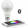 Nyrius Wireless Smart LED Multicolor Light Bulb for Smartphones & Tablets - iOS & Android App Remotely Controls On/Off, Scheduling & Dimming Function - Bluetooth Energy Efficient Home Automation (SB10)