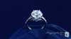 Crown CZ Ring with Baguette Side Stones in Sterling Silver, Sizes 5-9