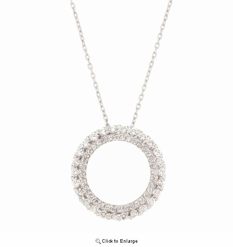 CZ Eternity Necklace