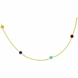 Gold Gems by the Yard Necklace