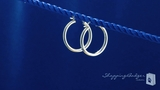 Sterling Silver 3mm x 25mm Tube Hoop Earrings