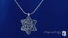 Sterling Silver Star of David Pendant Necklace