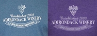 ADIRONDACK WINERY LOGO ITEMS