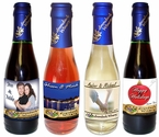 Mini (187 ml) Custom Labeled Wine Bottles (24-btl min.)