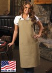 Bib Aprons with Pockets
