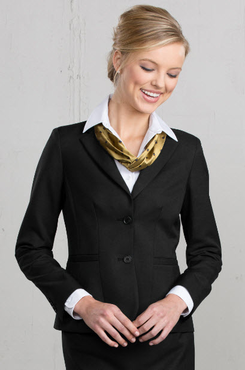 Ladies Extreme Washable Hotel Single Breasted Suit Coat