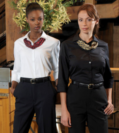 Ladies Front Desk Uniforms