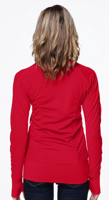 Ladies Stretch Knit Fitted Jacket Hospitality Uniforms SharperUniforms.com