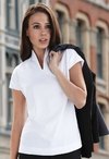 Ladies Ultimate Funnel Neck Restaurant Polo Shirt