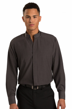 Men's Mandarin Collar Bistro Server Shirt