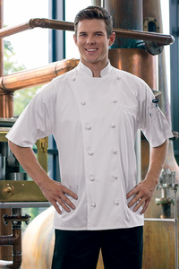 Short Sleeved Chef Coats