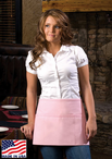 Three  Pocket Waist Apron with Optional Pencil Divide