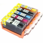 Canon C825 Refillable Ink Cartridges with Reset Chip