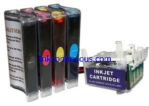 Continuous Ink System for Epson NX420, Workforce 320/325