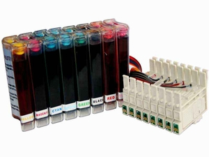 continuous ink system for Epson Stylus Photo R800/R1800 Printer
