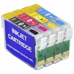 Epson T200 Refillable Ink Cartridges with Reset Chip