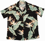 Bird Of Paradise 11<br>Ladies Hawaiian Shirt<br>100% Rayon<br>