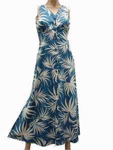 Fan Palm<br>Hawaiian Dresses<br>100% Rayon<br>