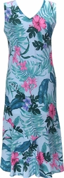 Floral Garden<br> Women's Hawaiian Dress<br>100% Rayon<br>