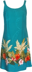 Happy Hawaiian Dress<br>Hawaiian Dresses<br>100% Rayon<br>