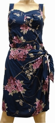 Sakura<br> Hawaiian Dress<br>100% Rayon<br>