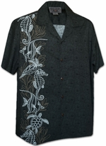 Tattoo Panel<br>Mens Hawaiian Shirts<br>Matching chest pocket<br>100% Cotton<br>