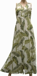 Tree Tops<br>Womens Hawaiian Dresses<br>100% Rayon<br>