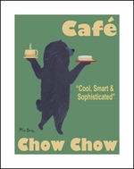 Caf� Chow Chow - Limited Edition Print