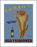 GOLDEN OLD FASHIONED - LIMITED EDITION PRINT