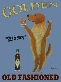 GOLDEN OLD FASHIONED - PREMIUM CANVAS LIMITED EDITION PRINT