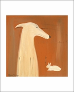 Greyhound and Rabbit - Five Great Sizes