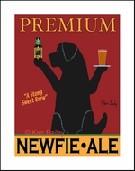 NEWFIE ALE - Limited Edition Print