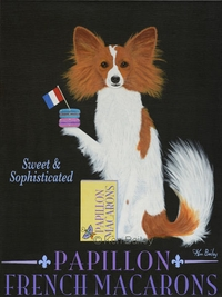 PAPILLON FRENCH MACAROONS - Premium Canvas Limited Edition Print