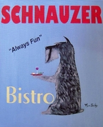 Schnauzer Bistro - Dog of The Day  #169