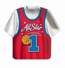 "All Star Basketball 9"" Shirt Plates"