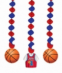 ALL STAR BASKETBALL DANGLING CUTOUT