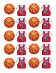 ALL STAR BASKETBALL STICKERS