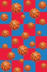 All Star Basketball Tablecover