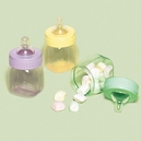 Baby Bottle Favor Containers Asst.