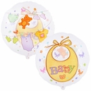Baby Clothesline See-Thru Foil Balloon