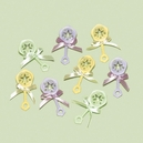 Baby Rattle Favor Charms Asst.